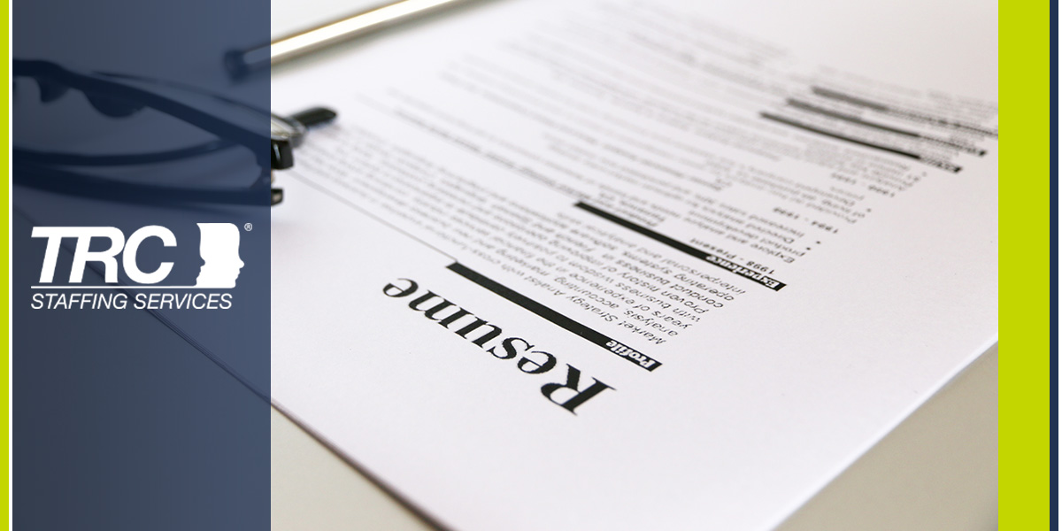 Top Tactics to Get Your Resume Out There | TRC Staffing Services ...