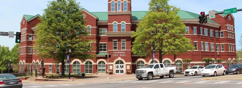 Cumming, Georgia city hall