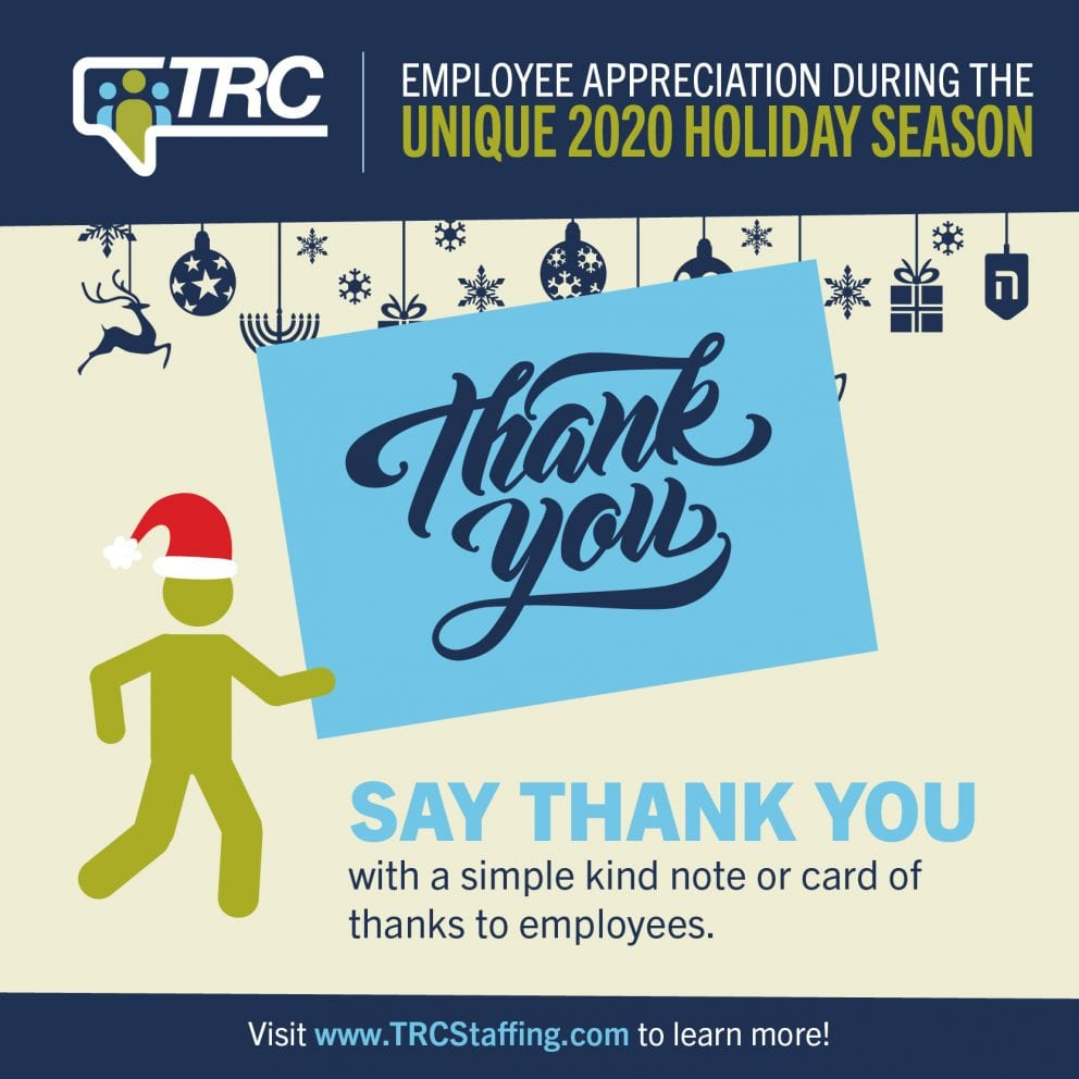 TRC | Nov. Blog - Employee Appreciation Holidays